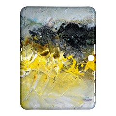 Bright Yellow Abstract Samsung Galaxy Tab 4 (10.1 ) Hardshell Case