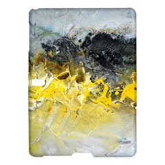 Bright Yellow Abstract Samsung Galaxy Tab S (10.5 ) Hardshell Case
