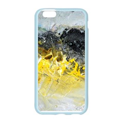 Bright Yellow Abstract Apple Seamless iPhone 6 Case (Color)