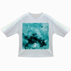 Turquoise Abstract Infant/Toddler T-Shirts