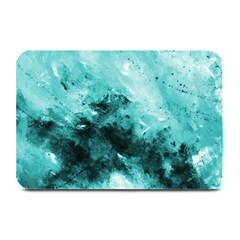 Turquoise Abstract Plate Mats