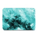 Turquoise Abstract Plate Mats 18 x12 Plate Mat - 1