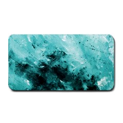 Turquoise Abstract Medium Bar Mats