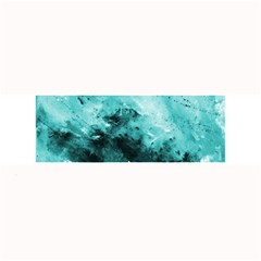 Turquoise Abstract Large Bar Mats