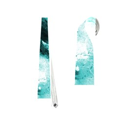 Turquoise Abstract Neckties (Two Side)