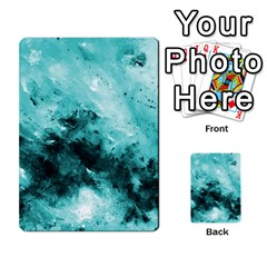 Turquoise Abstract Multi Purpose Cards (rectangle)