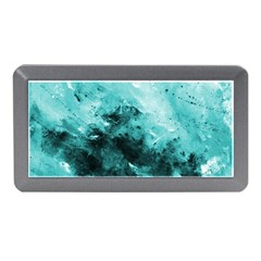 Turquoise Abstract Memory Card Reader (Mini)