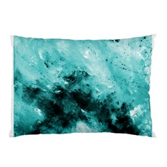 Turquoise Abstract Pillow Cases (two Sides)