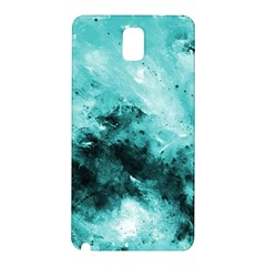 Turquoise Abstract Samsung Galaxy Note 3 N9005 Hardshell Back Case