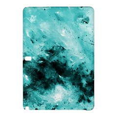 Turquoise Abstract Samsung Galaxy Tab Pro 12.2 Hardshell Case