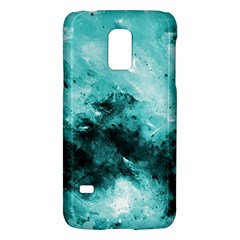 Turquoise Abstract Galaxy S5 Mini