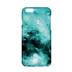 Turquoise Abstract Apple iPhone 6 Hardshell Case