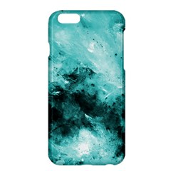 Turquoise Abstract Apple iPhone 6 Plus Hardshell Case