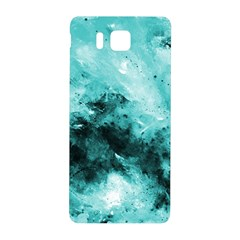 Turquoise Abstract Samsung Galaxy Alpha Hardshell Back Case