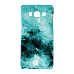 Turquoise Abstract Samsung Galaxy A5 Hardshell Case