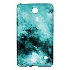 Turquoise Abstract Samsung Galaxy Tab 4 (8 ) Hardshell Case