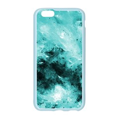 Turquoise Abstract Apple Seamless iPhone 6 Case (Color)