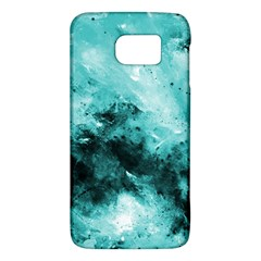 Turquoise Abstract Galaxy S6