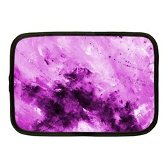 Bright Pink Abstract Netbook Case (medium)