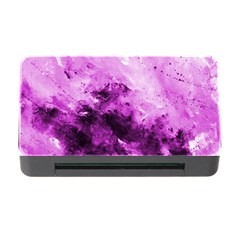Bright Pink Abstract Memory Card Reader With Cf