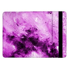 Bright Pink Abstract Samsung Galaxy Tab Pro 12 2  Flip Case