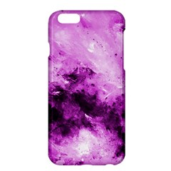 Bright Pink Abstract Apple iPhone 6 Plus Hardshell Case