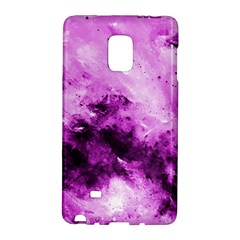 Bright Pink Abstract Galaxy Note Edge