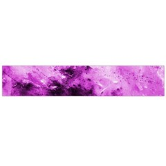 Bright Pink Abstract Flano Scarf (Large)