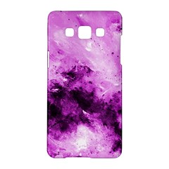 Bright Pink Abstract Samsung Galaxy A5 Hardshell Case