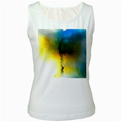 Watercolor Abstract Women s Tank Tops