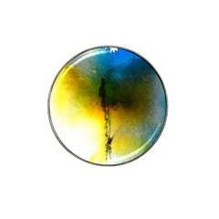 Watercolor Abstract Hat Clip Ball Marker