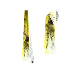 Watercolor Abstract Neckties (One Side)