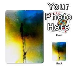 Watercolor Abstract Multi-purpose Cards (Rectangle)