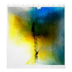 Watercolor Abstract Shower Curtain 66  x 72  (Large)