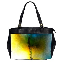 Watercolor Abstract Office Handbags (2 Sides)