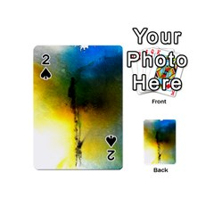 Watercolor Abstract Playing Cards 54 (mini)