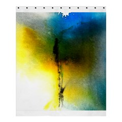 Watercolor Abstract Shower Curtain 60  x 72  (Medium)