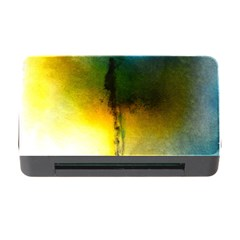 Watercolor Abstract Memory Card Reader With Cf
