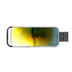 Watercolor Abstract Portable Usb Flash (two Sides)