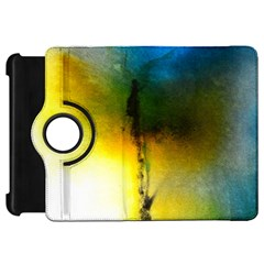 Watercolor Abstract Kindle Fire Hd Flip 360 Case