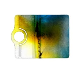 Watercolor Abstract Kindle Fire Hd (2013) Flip 360 Case