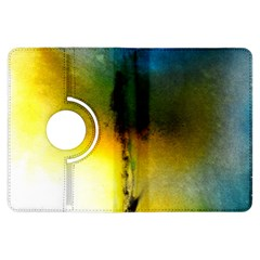 Watercolor Abstract Kindle Fire Hdx Flip 360 Case