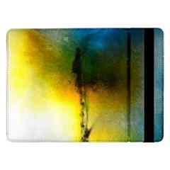 Watercolor Abstract Samsung Galaxy Tab Pro 12 2  Flip Case