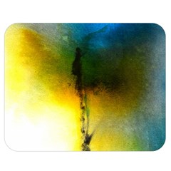 Watercolor Abstract Double Sided Flano Blanket (Medium)