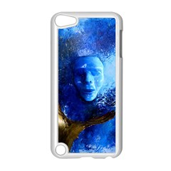 Blue Mask Apple Ipod Touch 5 Case (white)