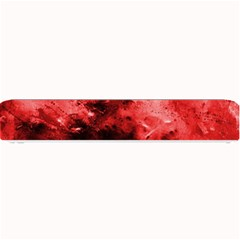 Red Abstract Small Bar Mats