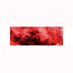 Red Abstract Large Bar Mats