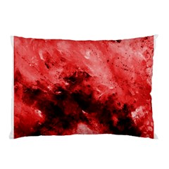 Red Abstract Pillow Cases