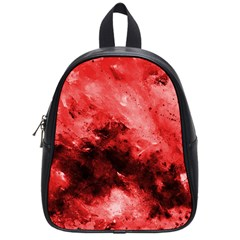 Red Abstract School Bags (small)
