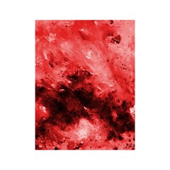 Red Abstract Shower Curtain 48  X 72  (small)